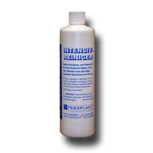 Intensivreiniger für Kunststoff Oberflächen PVC Weiß für Fenster Türen und Rolladen Reinigungsmilch Reiniger Pflege Bayram®