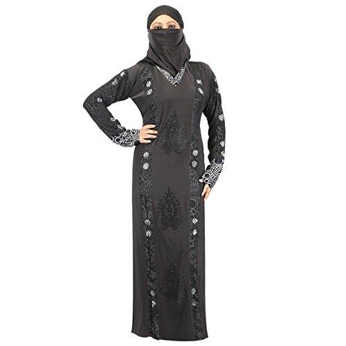 Hawai Chic Black Burqa For Women