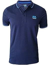 Henleys Mens Designer Luge Polo Shirt Casual Collared Pique Top Short Sleeved T Shirt