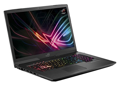Asus ROG Strix SCAR Edition GL703GS 90NR00E1-M00160 43,9 cm (17,3 Zoll Full HD Matt) Gaming Notebook (Intel Core i7-8750H, 16GB RAM, 256GB SSD, 1TB HDD, NVIDIA GeForce GTX 1070 8GB, Win 10) gunmetal