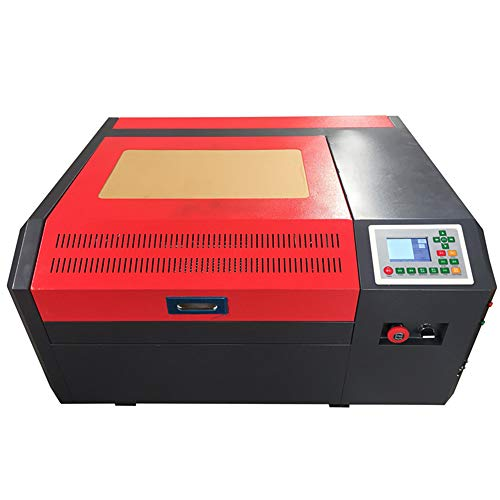 CO2-Licht Graviermaschine, Off-Line Control Panel Mini 50W Cutting Machine Support Coreldraw
