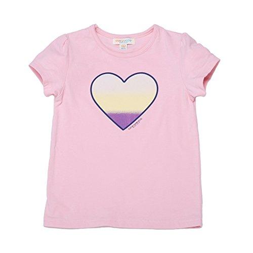 Oceankids Jungen Grafik Shirt Baumwoll Kinder T-Shirt mit Herz Muster Rosa 8T 7-8 Jahre (End Shirt Lands Jungen)