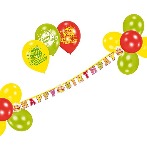 Susy Card 11399540 - Party-Set, Happy Birthday, 21-teilig Preisvergleich