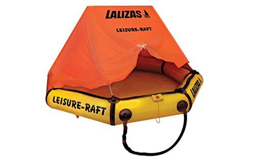 Lalizas Rettungsinsel 4 Personen selbstaufblasend mit Dach und Tragetasche Rettungsfloß
