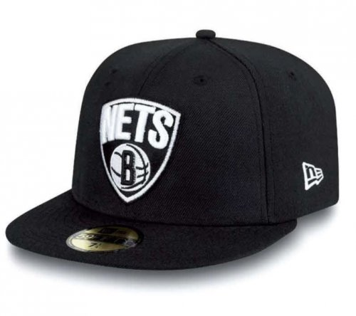 New Era NBA BROOKLYN NETS Team Basic 59FIFTY Cap, Größe:7 1/4