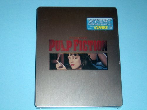 Pulp Fiction Japan 1st Printing Limited Blu-Ray Steelbook Edition Region A