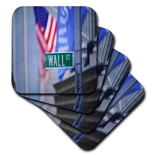 Florene New York–Wall Street–Untersetzer, keramik, set-of-4-Ceramic