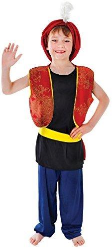 Fancy Me Jungen Arabisch Aladdin Ali Baba Büchertag Kostüm Kleid Outfit 4-14 Jahre - 10-12 Years (Aladdin Für Kostüme Jungen)