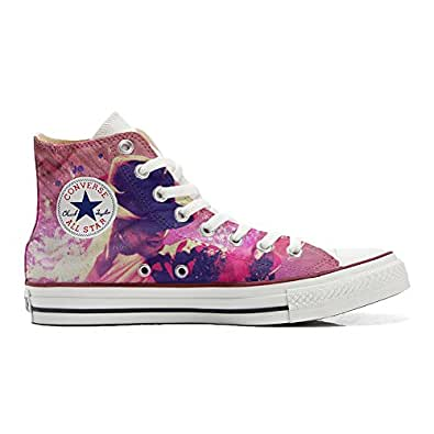 Converse All STar CUSTOMIZED , Sneaker Unisex, printed Italian style Michael Jackson Style - size 35 EU