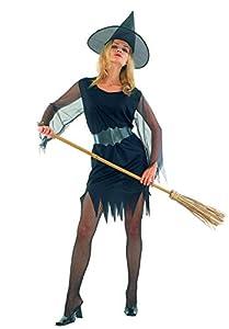 Ciao-Costume Strega sexy, taglia unica adulto Disfraces, color negro, (62139)