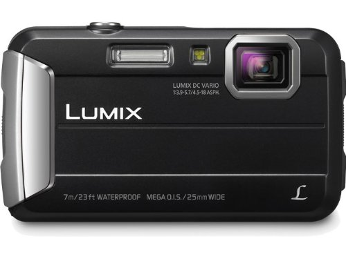 Panasonic Lumix Dmc-ts25 16.1 Mp Tough Digital Camera With 8x Intelligent Zoom Blue Black