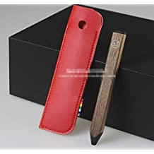 Red Microfiber Leather Case Fundas Cover Sleeve for FiftyThree Paper Pen pluma cil 53 Stylus