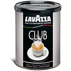 Lavazza Club Italy's Favourite Ground Coffee, 100% Premium Arabica, 250g
