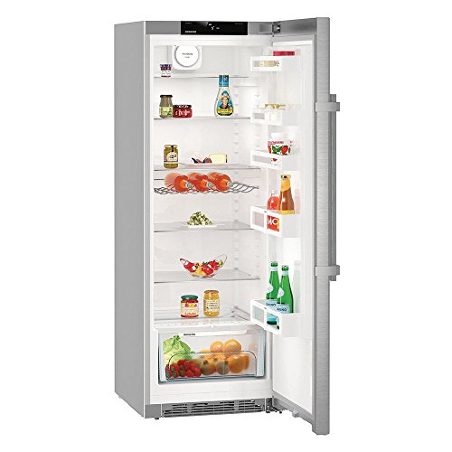 Liebherr Kef 3710 Autonome 342L A+++ Acier inoxydable réfrigérateur - Réfrigérateurs (342 L, SN-T, 38 dB, A+++, Acier inoxydable)