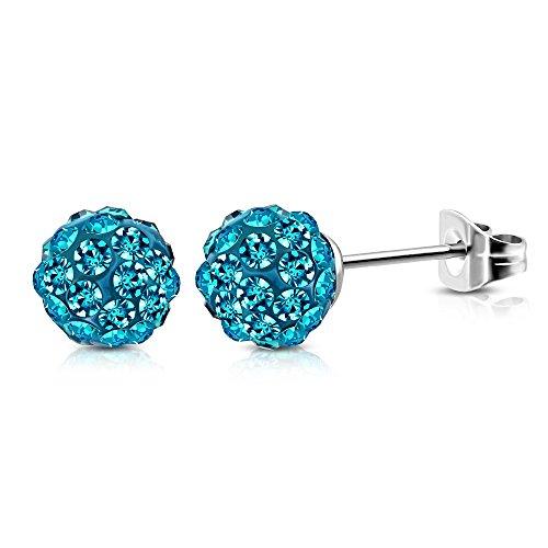 bungsa-blaue-shamballa-ohrstecker-discokugel-silber-ferido-kristall-8mm-1-paar-edelstahl-ohrringe-cr