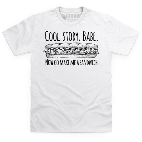 Cool Story Babe Graphic T-Shirt, Herren Wei