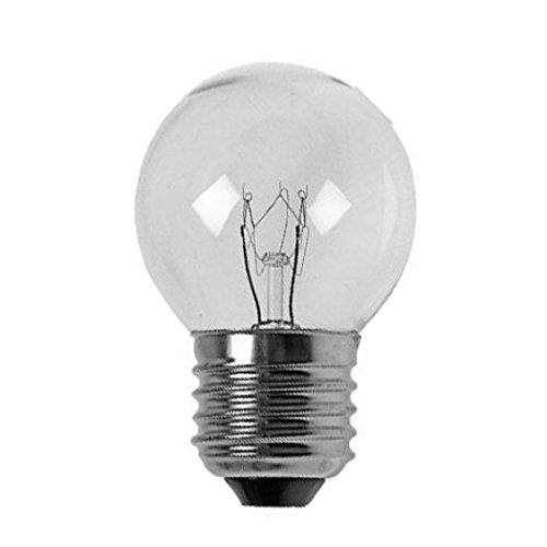 235v 40w Pizza Oven Light Bulb Golf Ball 500 Degrees ES E27 Screw Cap