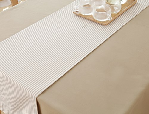 Table Runner Treillis Table Basse Nappe Table À Manger TV Cabinet Couverture Tissu Simple Moderne Europe Du Nord Style (Couleur : Style1, taille : 40 * 150cm)