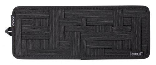 Preisvergleich Produktbild Cocoon GRID-IT - Sonnenblende Organizer mit elastischen Bändern / Auto Zubehör / KFZ Organizer / Multifunktionales Organisationssystem für das Auto / Brett für Sonnenblende – Schwarz / 34, 4x1, 7x13, 3cm