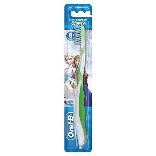 Oral-B CrossActionCepillo de dientes manual con diseño de personajes de Frozen, varios diseños