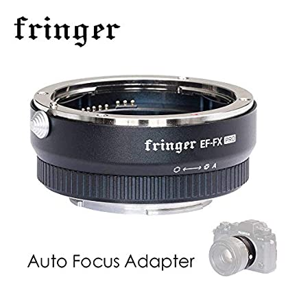 EF-FX PRO Version Auto Focus Mount Adapter Built-in Electronic Aperture for Canon EF EOS Tamron Sigma Lens to Fujifilm FX Mirroless Camera X-E3 XT20 X-Pro2 X-T2 X-A X-E1 X-M1 XT1 XPRO2