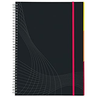 Avery Dennison Zweckform 7022 Notebook A5 Spiral-Bound Hard Cover Lined 90 Sheets