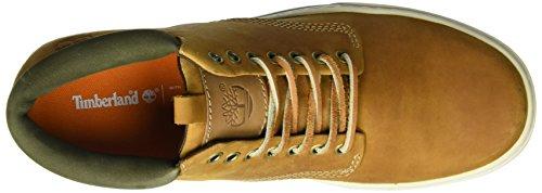 Timberland Ek2 0Cupsl Chka, Chaussures montantes homme Jaune (Wheat)