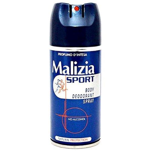 Malizia Unisex Sport No Alcohol Deodorant 150ml