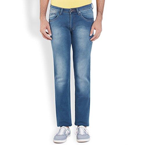 Park Avenue Light Blue Men Jeans