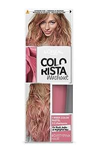 L'Oréal Paris Colorista Washout Pastel Colorazione Capelli Temporanea, Rosa Scuro (Dirty Pink)