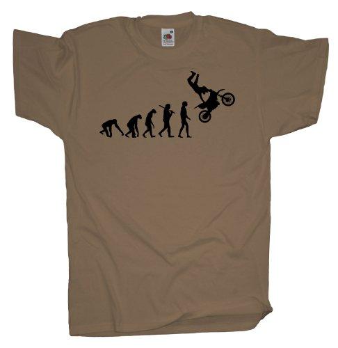 Ma2ca - Evolution - Motocross Freeride T-Shirt Khaki