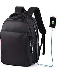 27d602f98c VBIGER Zaino PC Zaino Porta PC Zaino Scuola Impermeabile Zaino per Computer  portatile Con Caricatore USB