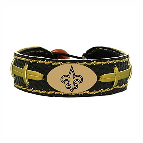 GameWear New Orleans Saints Team Farbe NFL Fußball Armband