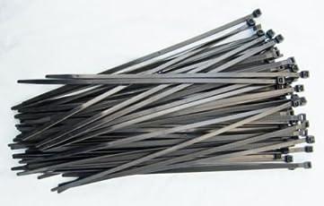 Fascette per cablaggio - Stringicavo - 100pz - Nero - 3,6 x 200 mm - PC24 Shop & Service Qualità Superiore