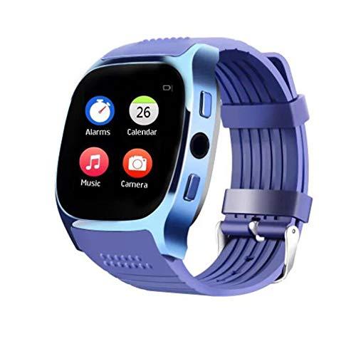 JIEGEGE T8M Unisex Bluetooth Smart Uhren, Kamera Herzfrequenz Blutdruck Schrittzähler GSM SIM Sport Fitness Uhr Sport Armband, Dual-System-Schnittstelle Umwandlung