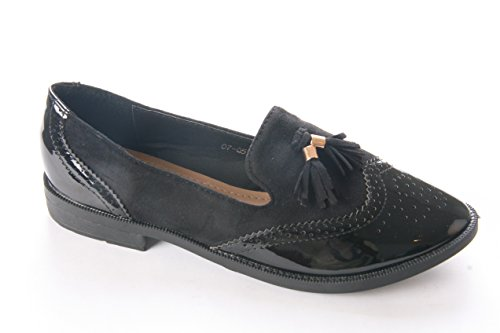 Mojoshu - Brogue donna Black