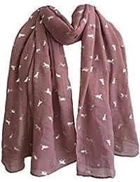 MRULIC Echarpes foulards femme Foulards Echarpe Foulard Long dame coton  candy couleur écharpe châle écharpe femme 05d837dbedc