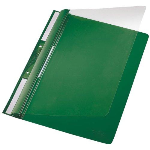 Leitz Plastic-Einhängehefter 4190/4190-00-55 252x315mm grün