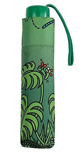 Paraguas Infantil Plegable Kukuxumusu Verde