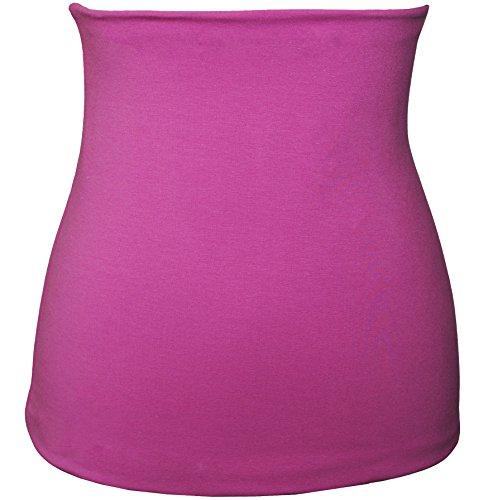 Belldessa Nierenwärmer - Baumwolle - Jersey - rosa / pink - Bauchwärmer / Rückenwärmer - 0 bis 3 Jahre - Kinder - für Blasenentzündung Mädchen Jungen Baby - Kinderniere..