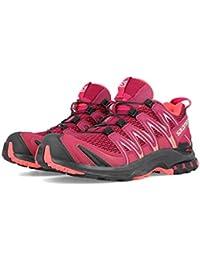 Salomon Damen XA Pro 3D W, Trailrunning-Schuhe, rot (beet red / cerise / black), Größe 38 2/3