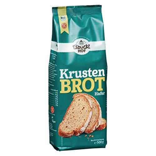 Bauckhof Hafer-Krustenbrot-Backmischung, glutenfrei (500 g) - Bio