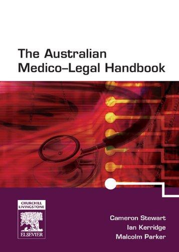 The Australian Medico-Legal Handbook with PDA Software (English Edition)