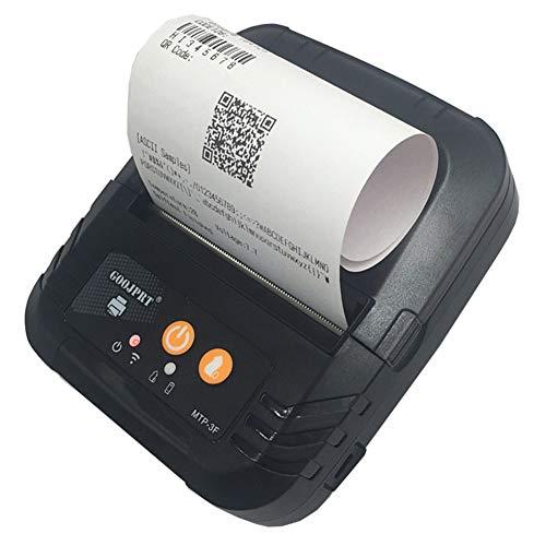 Thermischer Empfangs-drucker (GBPHH Pos Drucker Tragbar Bluetooth Thermisch Drucken Barcode Drucker Basierend auf USB Kabel Android und iOS & Windows)