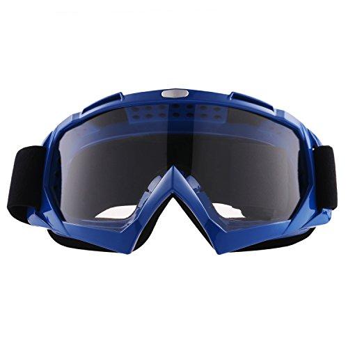 Sijueam Motorradbrillen Hochwertige Skibrille Anti Fog UV Schutzbrille mit Double Lens Schaumstoffpolsterung Uvex für Outdoor Aktivitäten Skifahren Radfahren Snowboard Wandern Augenschutz (Snowboard-brillen Blaue)