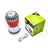 HRRH New Electric Mosquito Killer, USB Mosquito Repellent Camping Light, Waterproof Mosquito Repellent Lighting Suitable for Living Room Bedroom and Outdoor Camping (Orange)