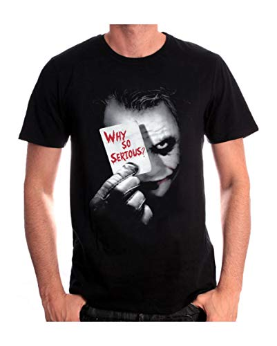 Horror-Shop Dark Knight T-Shirt Joker Why so serious? XL