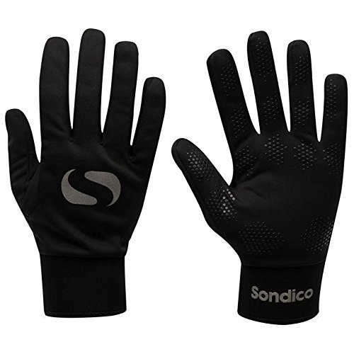 Sondico-Football-OutfieldField-Player-Thermal-Fleece-Lined-Gloves-childrens-childs-Junior-BOYS-or-GIRLS