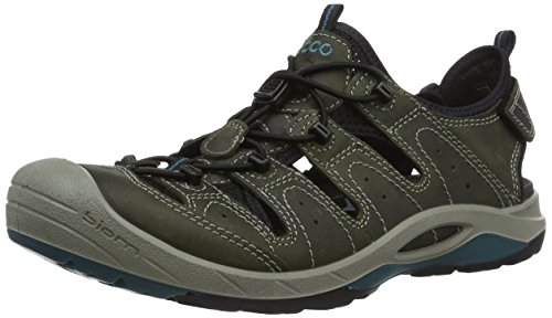 Ecco Men's Biom Delta Multisport Outdoor Shoes, Green (50333tarmac/Black/Biscaya), 8 UK