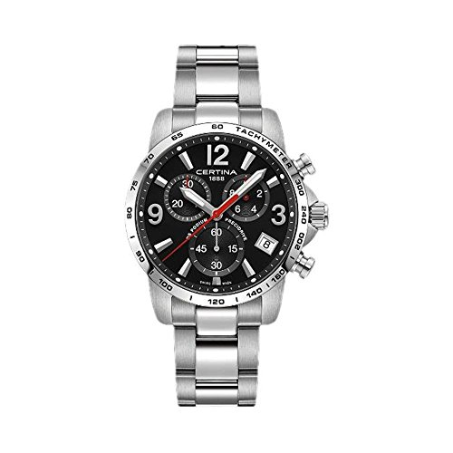 Certina Men's DS Podium 41mm Steel Bracelet Quartz Watch C034.417.11.057.00